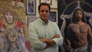 Raúl Berzosa, pintor del cartel del Centenario